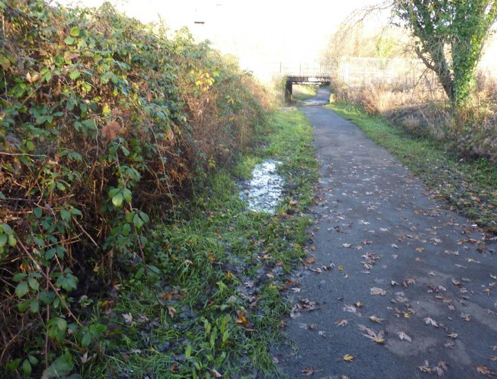 Update Right of Way at Ynys Fields and Aberdare Canal Head