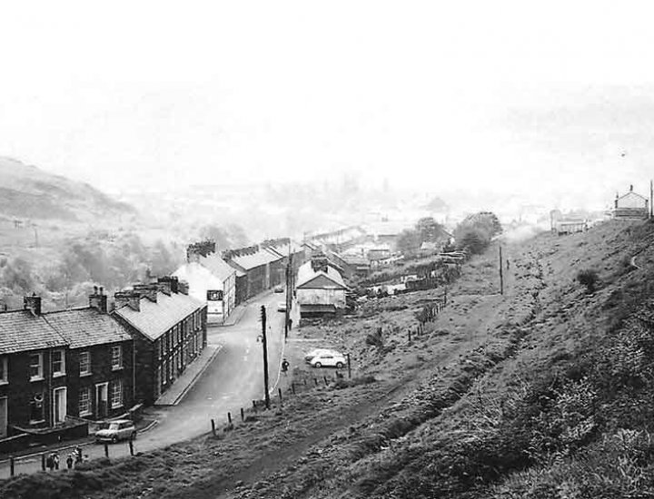 The old line Cwmaman photo provided  by Andrew s Griffiths