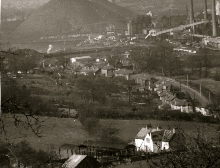 Fernhill before development with the Phurnicite in the background
