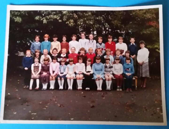 Aberdare Town Church School with the lovely, late, Mrs Williams