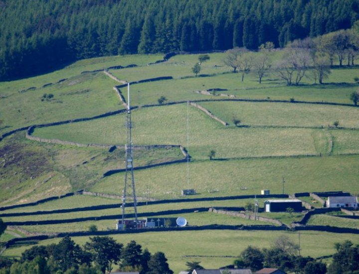 The Aberdare Transmitter.