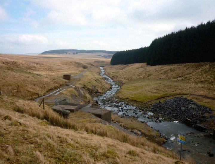 The River on its way to Maerdy part of Rhondda Valleys