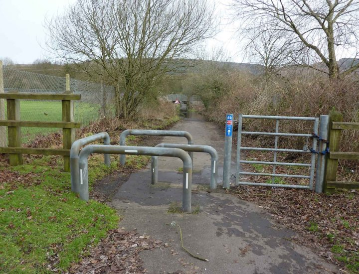 Cynon Trail blocked due to flooding 11 January 2015
