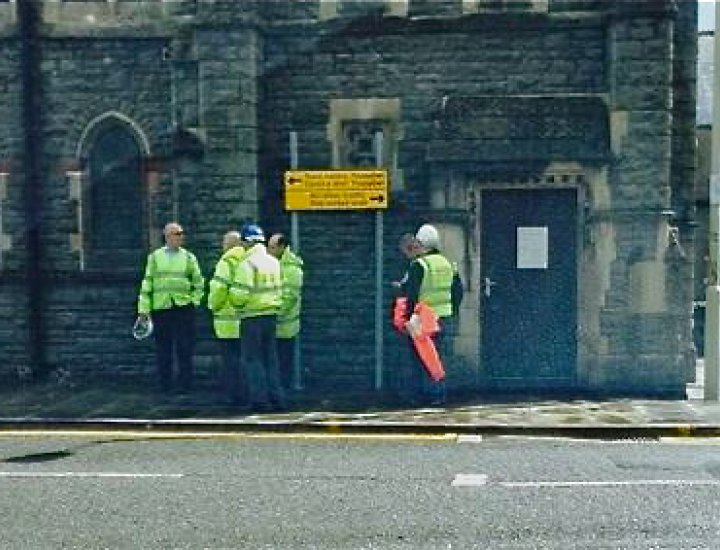 RCT council decide sign was indeed upside in Pontypridd