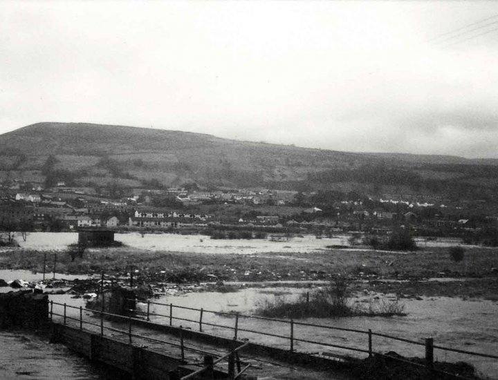 1980 Flooding at Tirfounder Fields