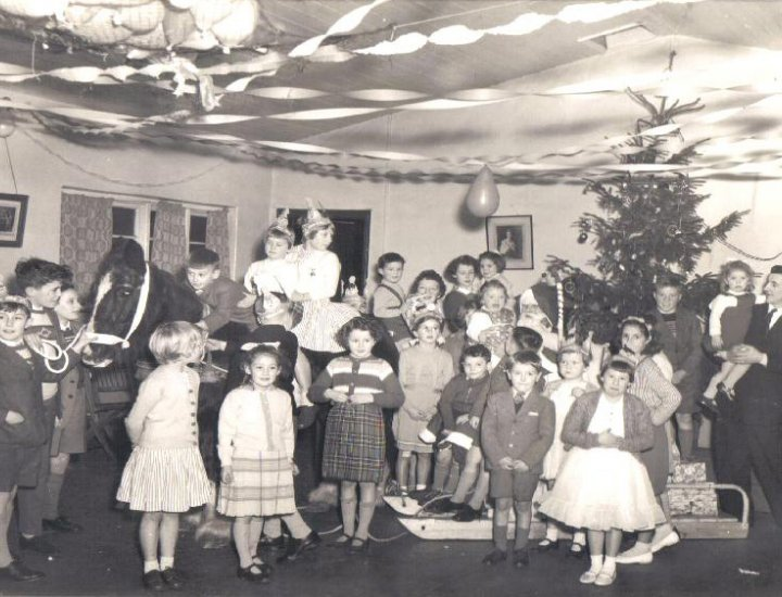 Rhigos colliery childrens Christmas party 1955 - 65