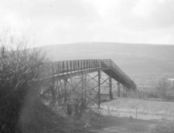 Old Footbridge from Cwmbach to Aberaman