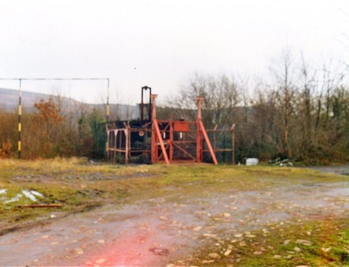 Old Colliery shaft Abercwmboi Pit